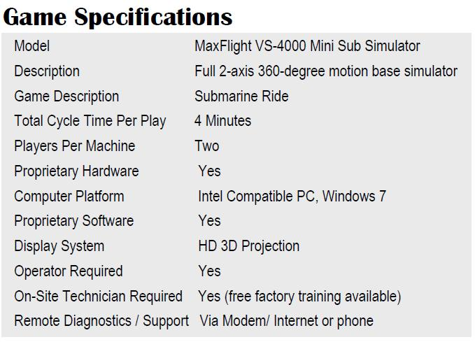 vs4000gamespecifications